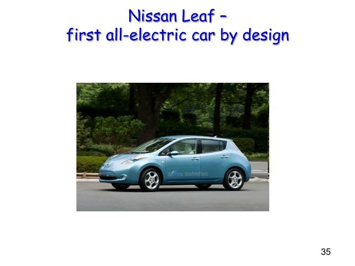 Nissan Leaf –