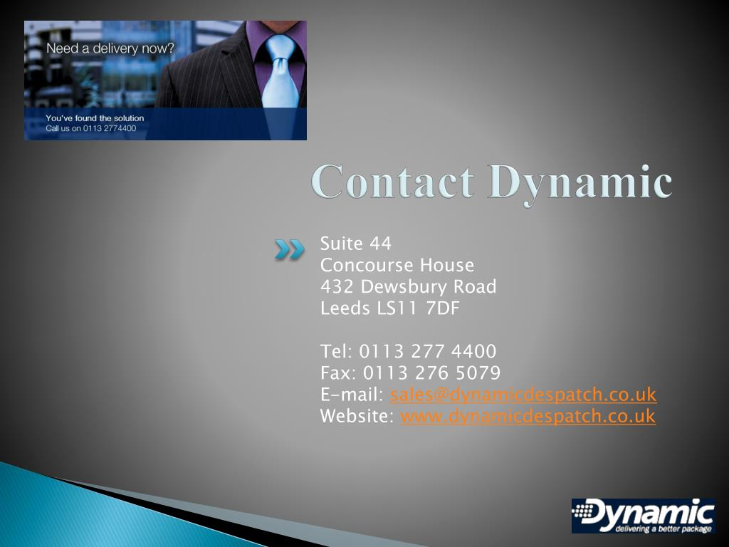 Contact Dynamic