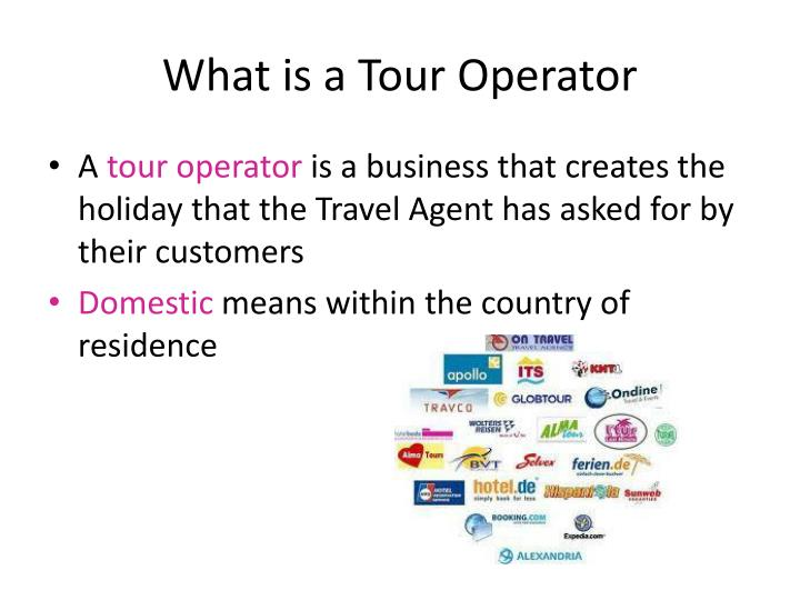 What is a tour operator