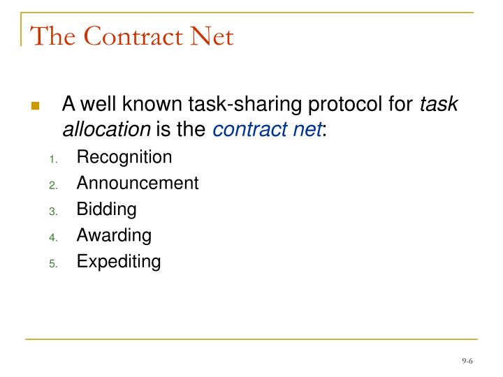 The Contract Net