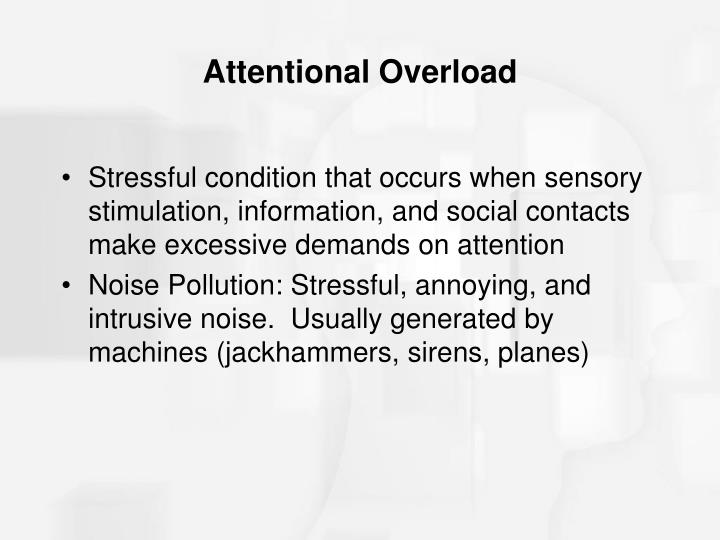 Attentional Overload