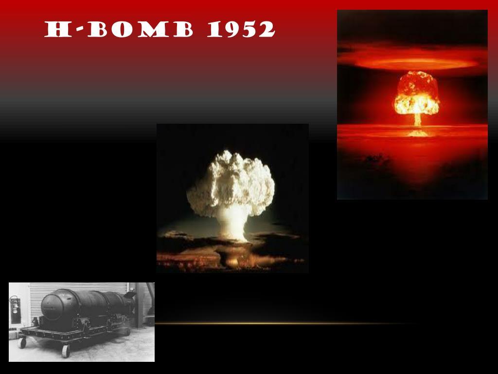 H-bomb 1952