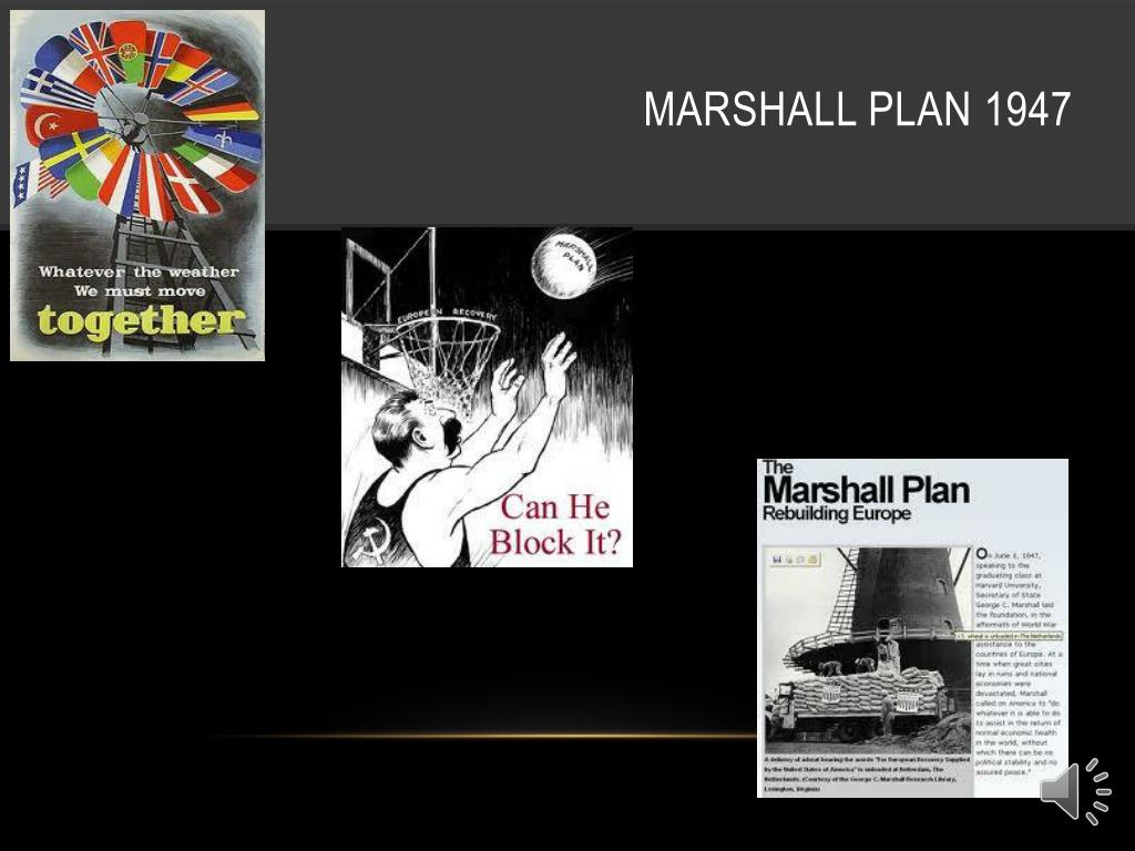 Marshall plan 1947