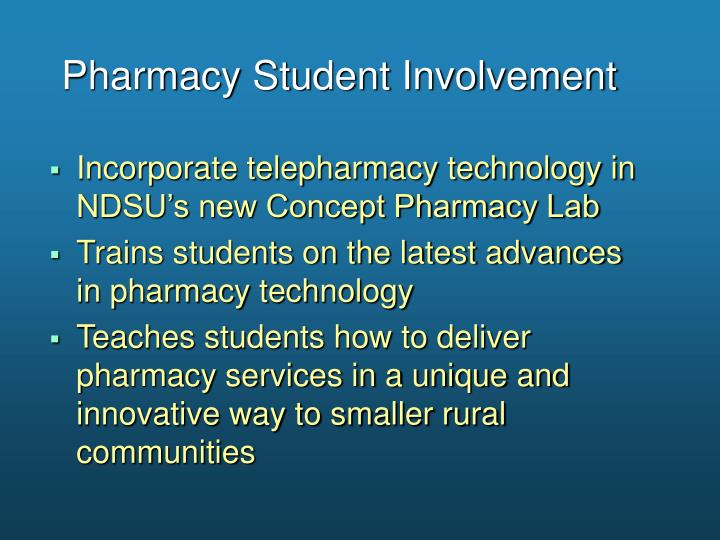 Pharmacy Student Involvement