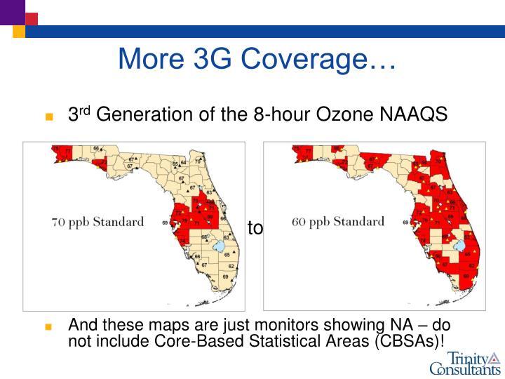 More 3G Coverage…