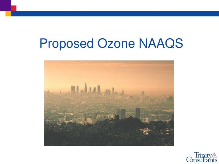 Proposed Ozone NAAQS