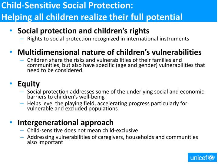 Child-Sensitive Social Protection: