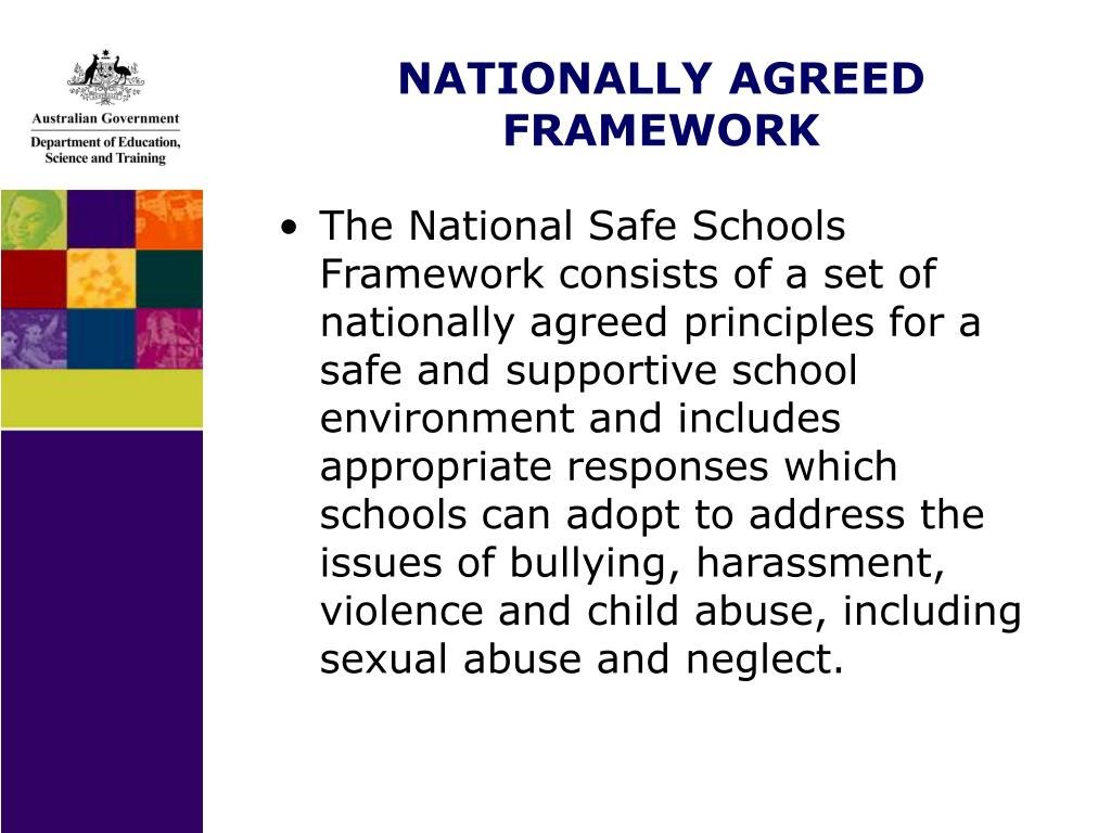 NATIONALLY AGREED FRAMEWORK