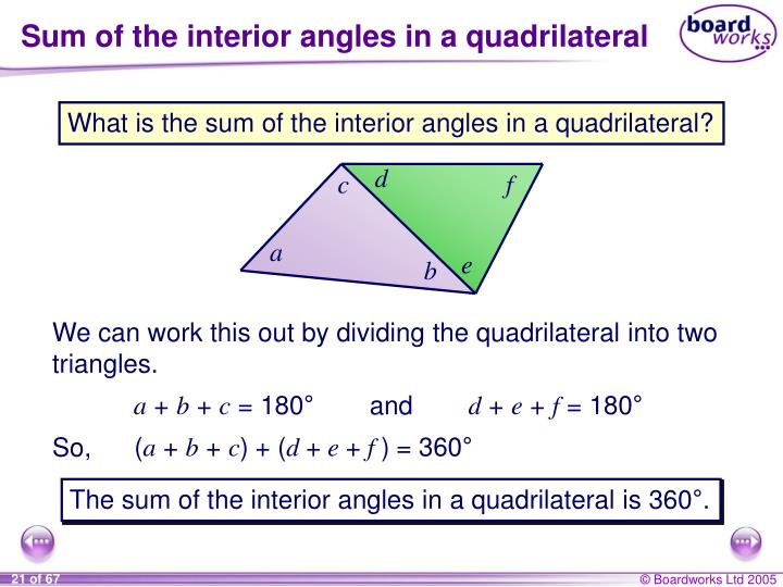 Sum Of Interior Angles Of Triangle 28 Images To Nearest Tenth Ppt Theorem 6 8 Exterior
