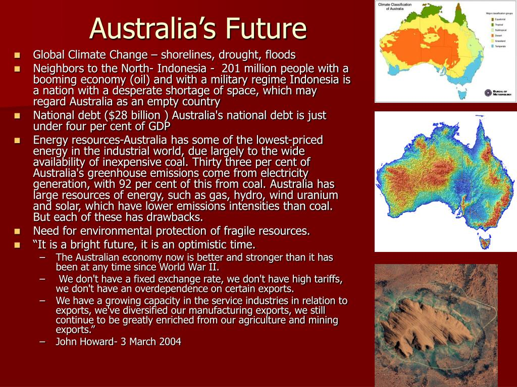 Australia's Future