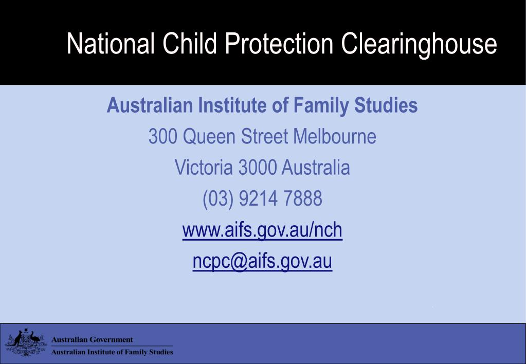 National Child Protection Clearinghouse