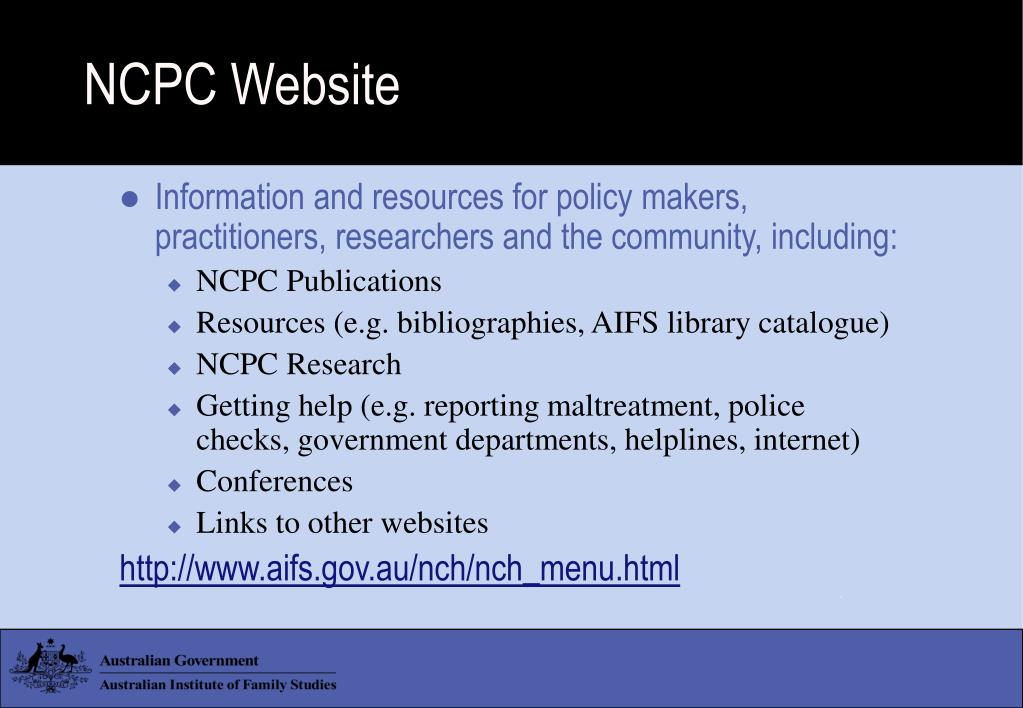 NCPC Website