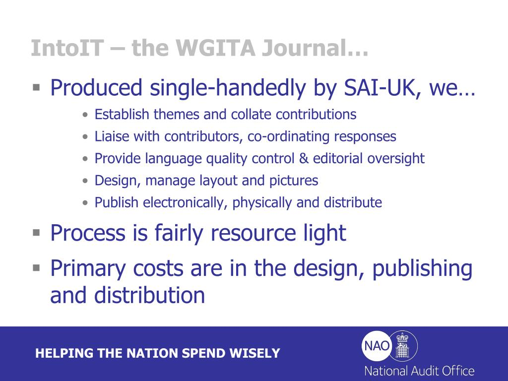 IntoIT – the WGITA Journal…