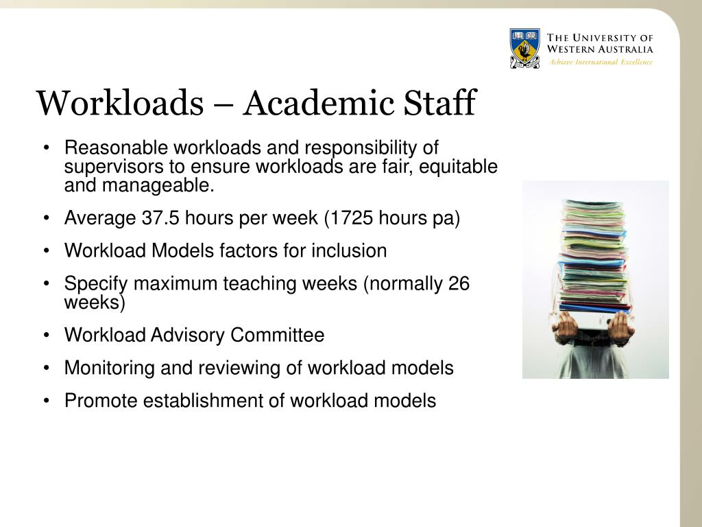 Workloads – Academic Staff