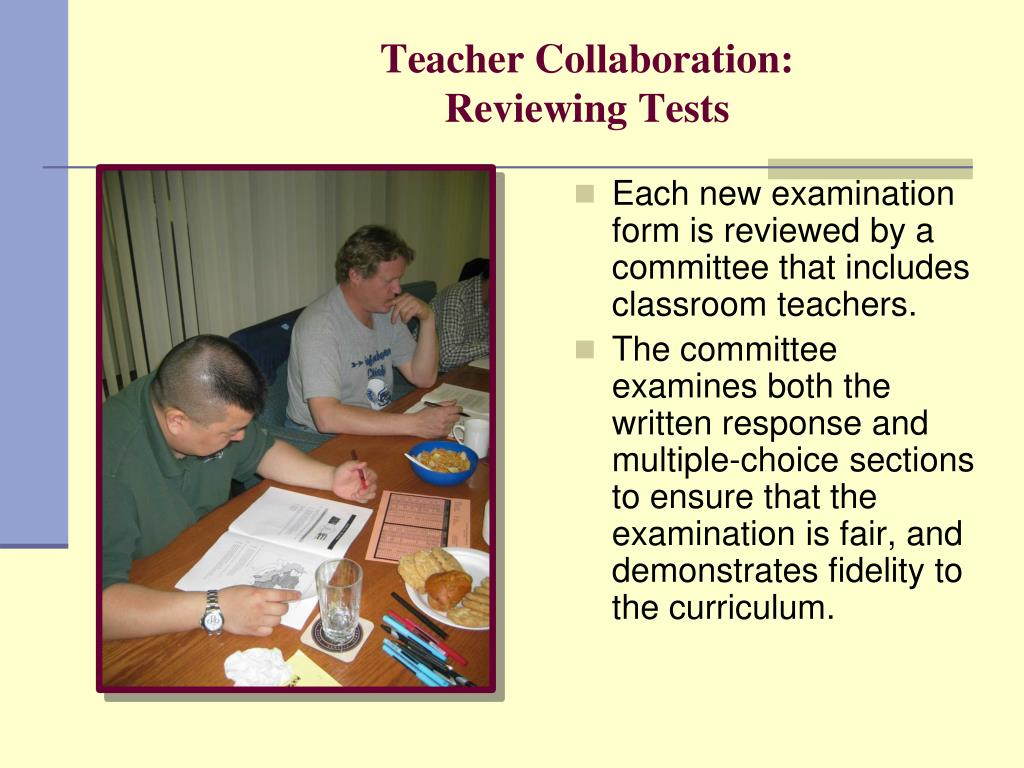 Teacher Collaboration:
