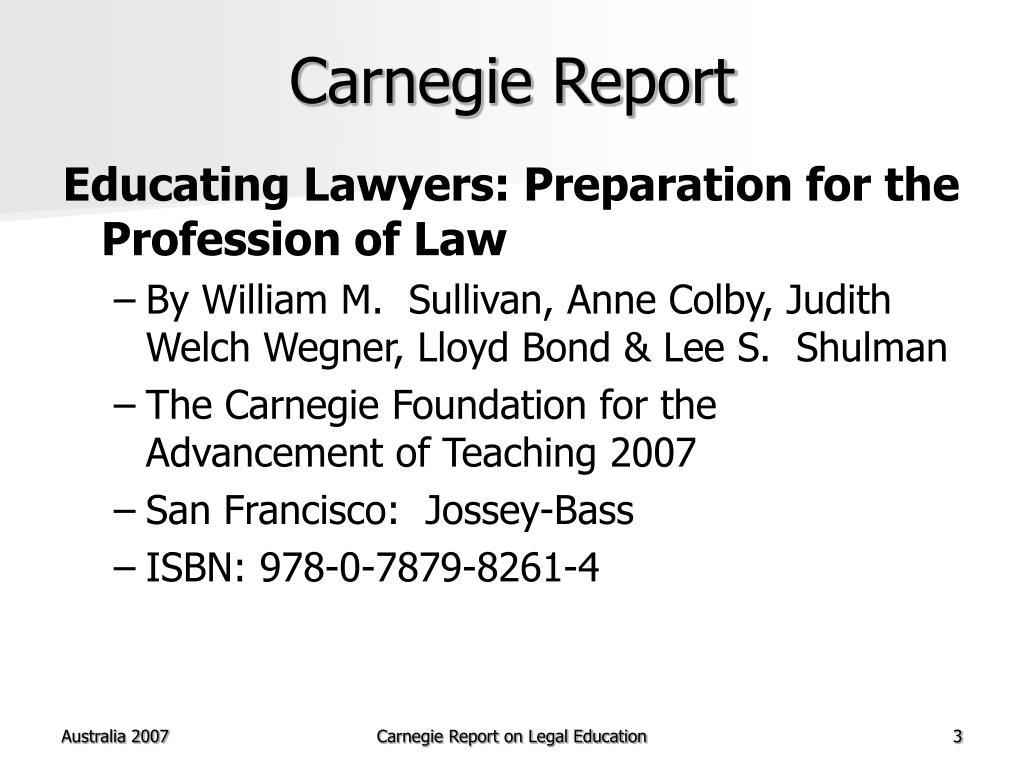 Carnegie Report