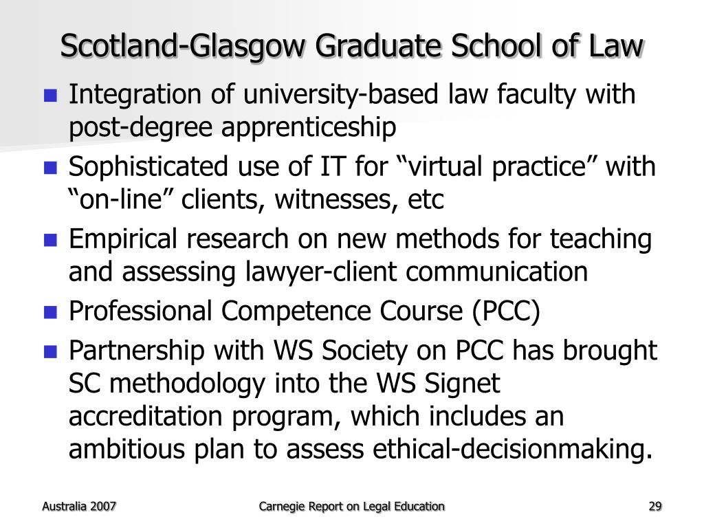 Scotland-Glasgow Graduate School of Law