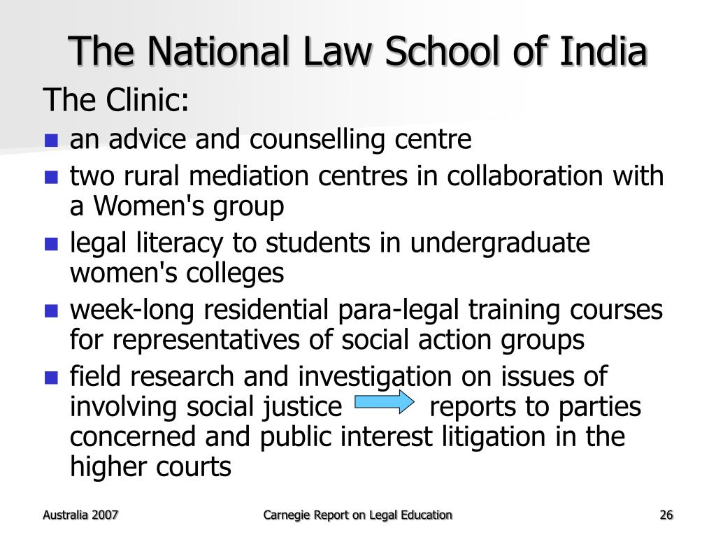The National Law School of India