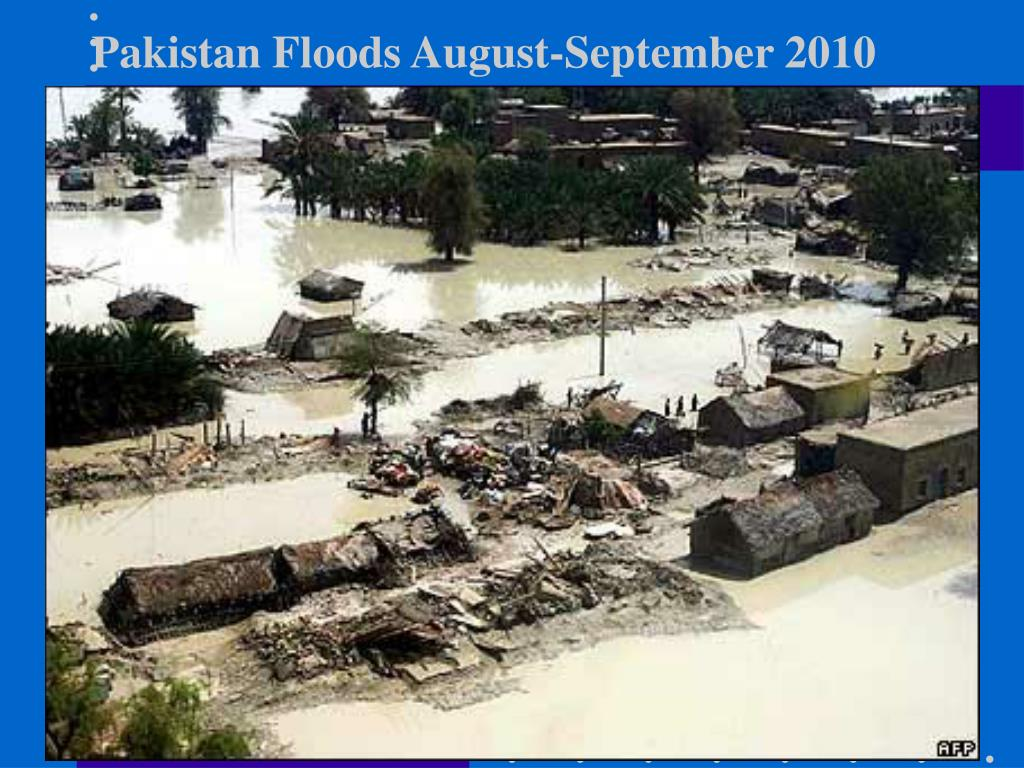 Pakistan Floods August-September 2010