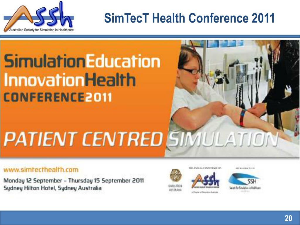SimTecT Health Conference 2011