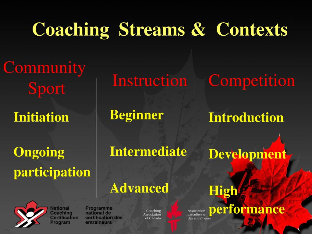 Coaching  Streams