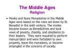 the middle ages religion