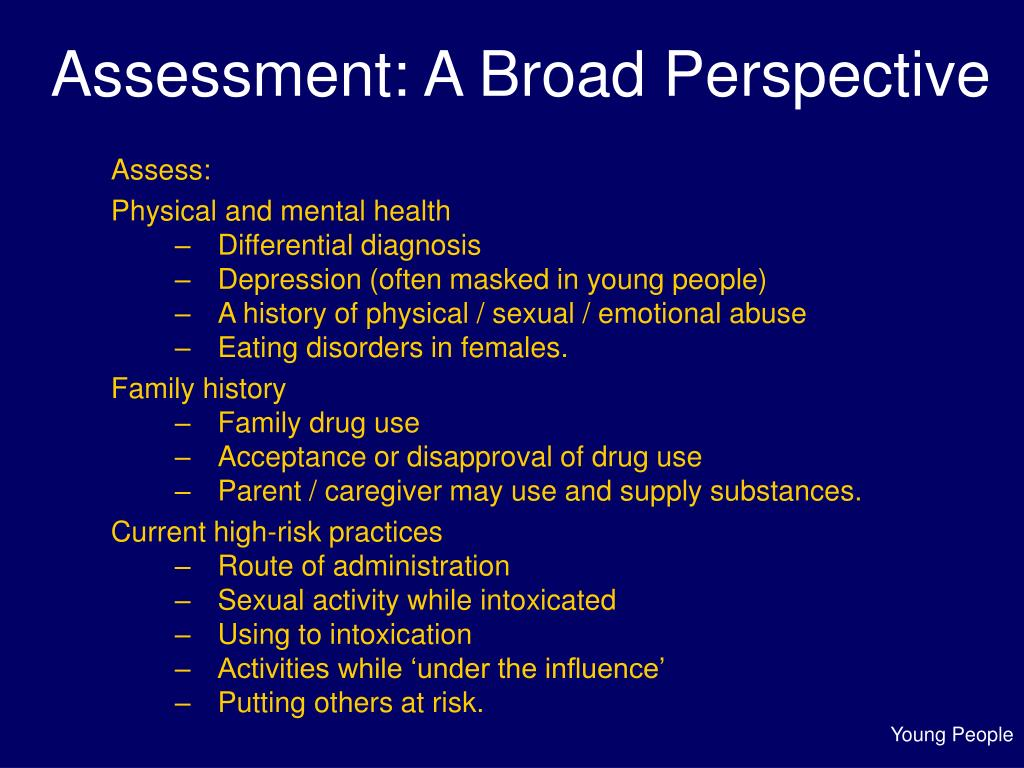Assessment: A Broad Perspective