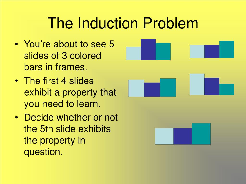 The Induction Problem