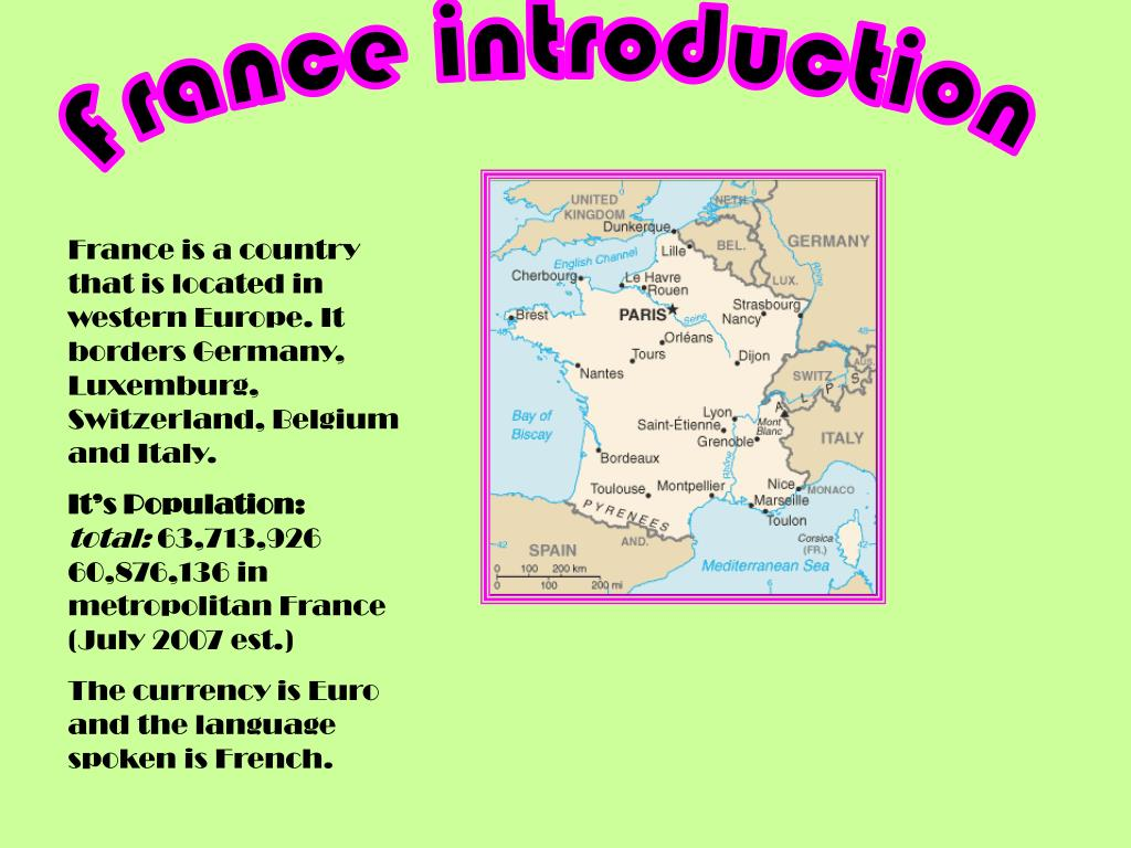 France introduction