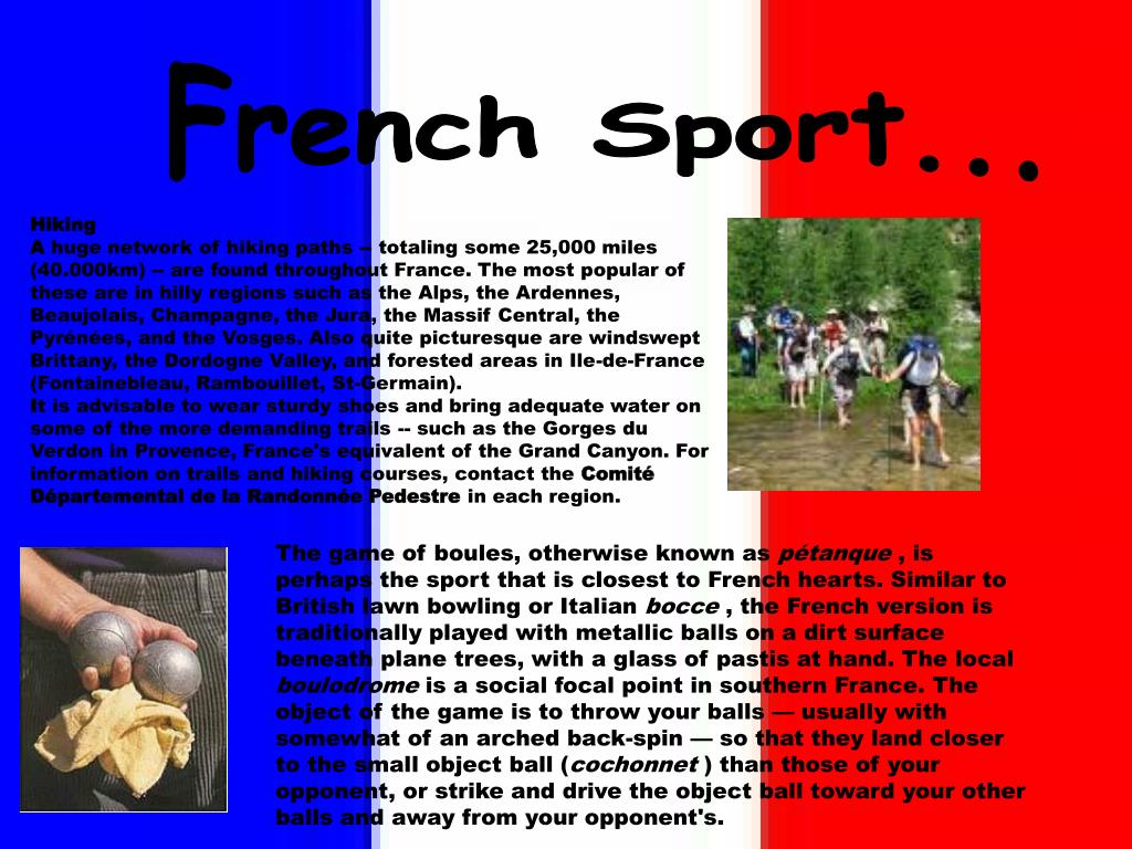 French Sport...