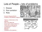 lots of people lots of problems