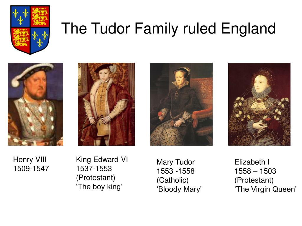 The Tudor Family ruled England
