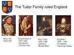 the tudor family ruled england