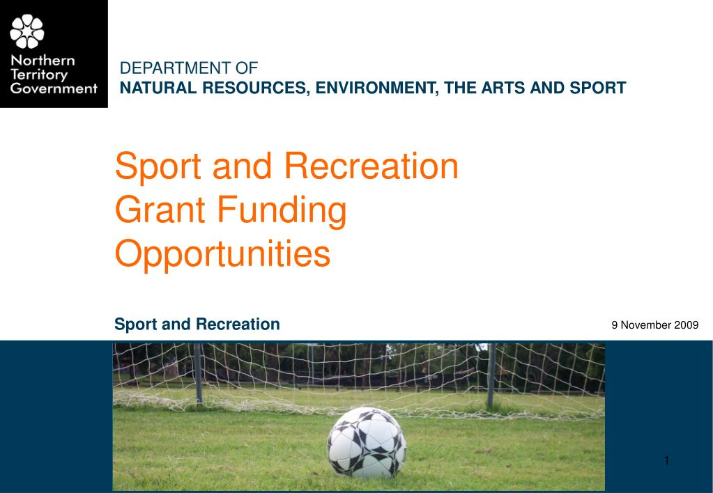 Sport and Recreation Grant Funding Opportunities