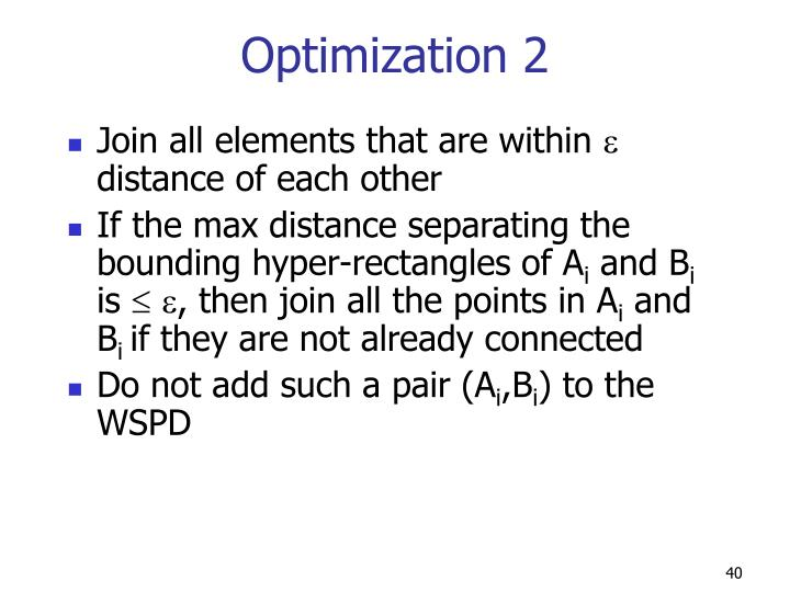 Optimization 2