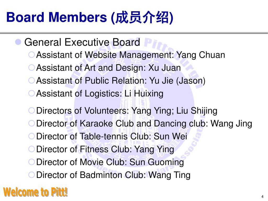 Board Members (