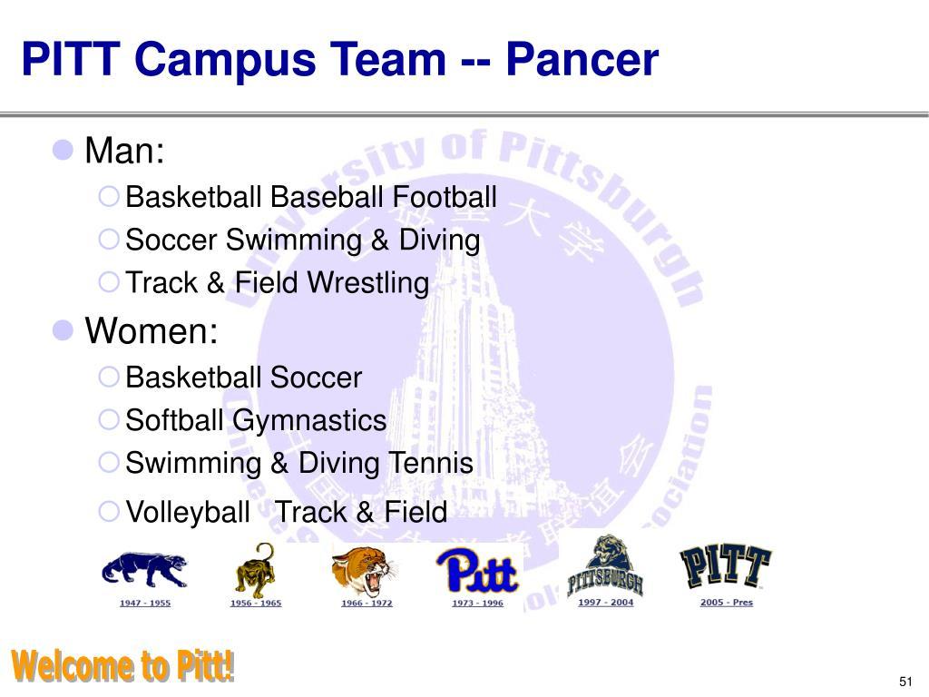 PITT Campus Team -- Pancer