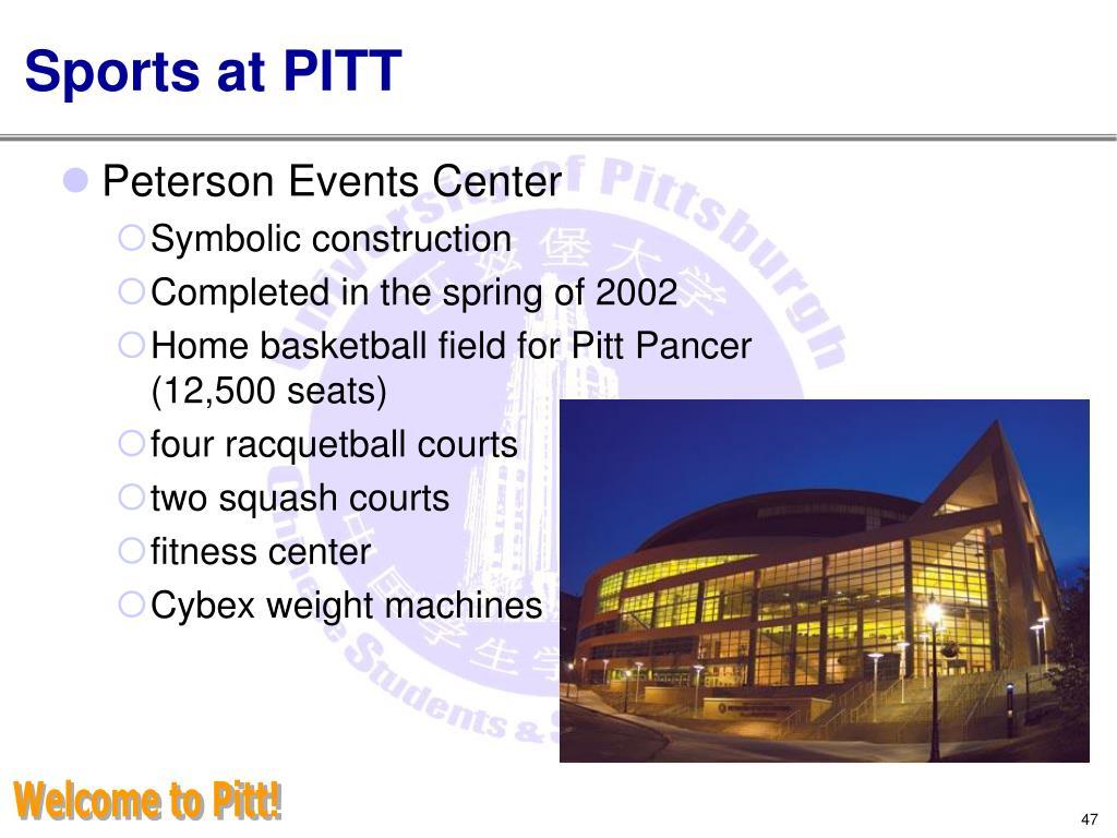 Sports at PITT