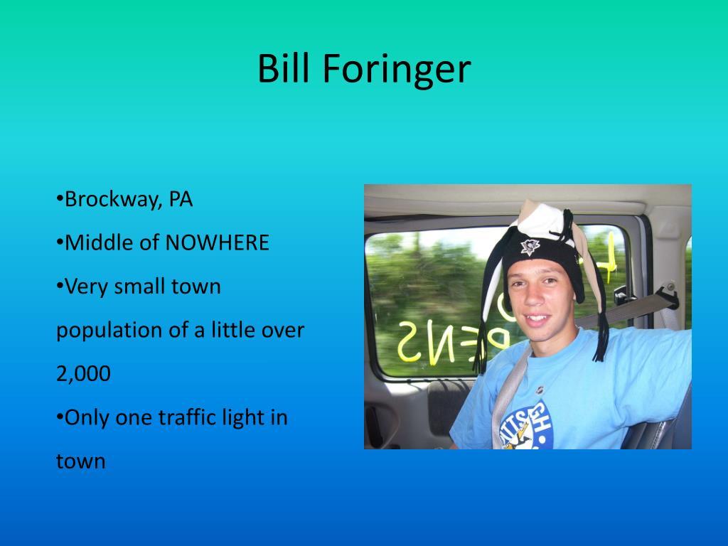 Bill Foringer