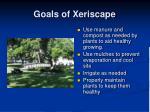 goals of xeriscape41