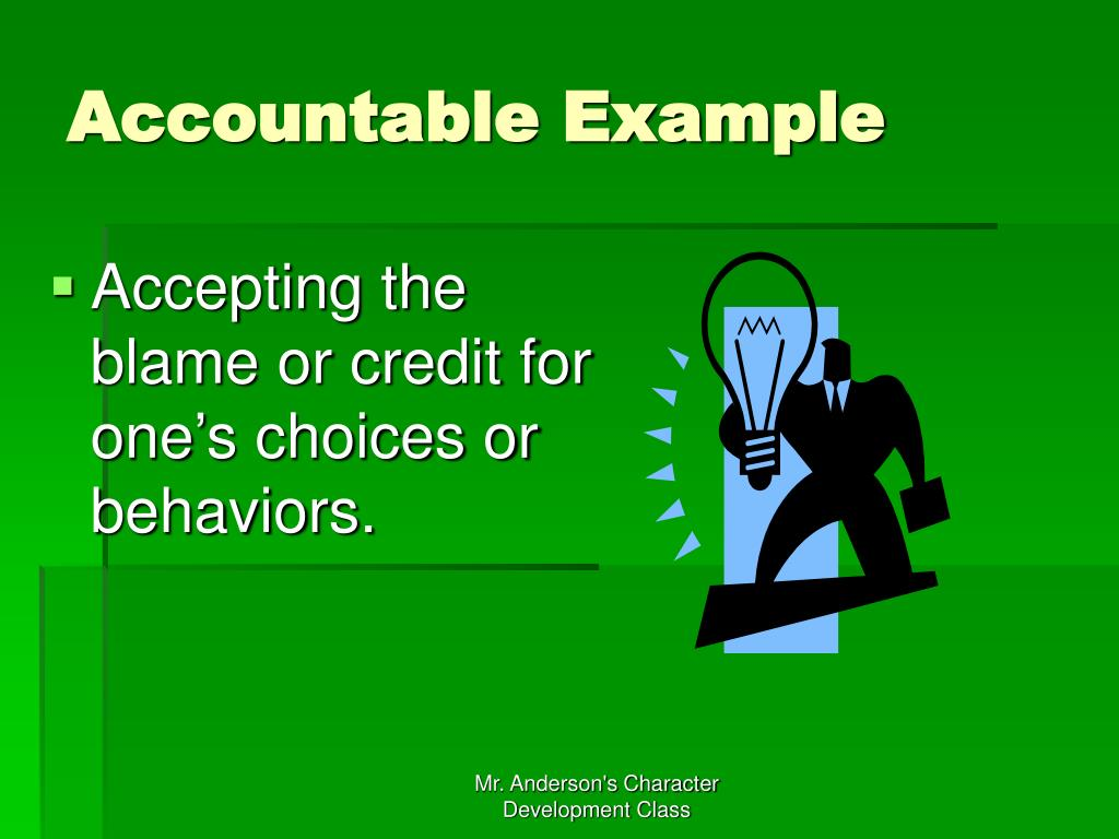 Accountable Example