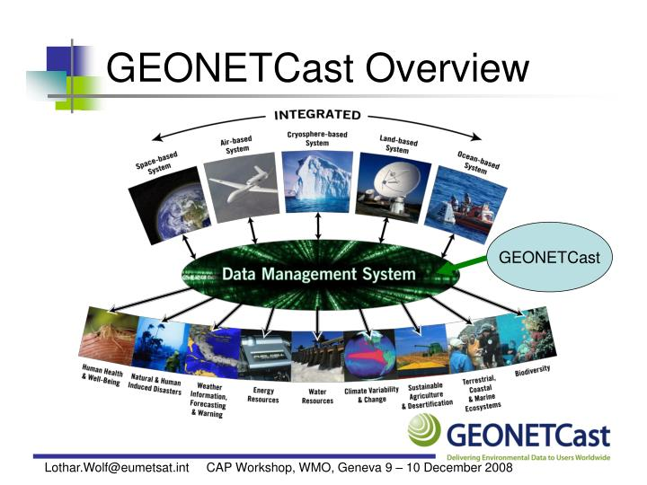Geonetcast overview