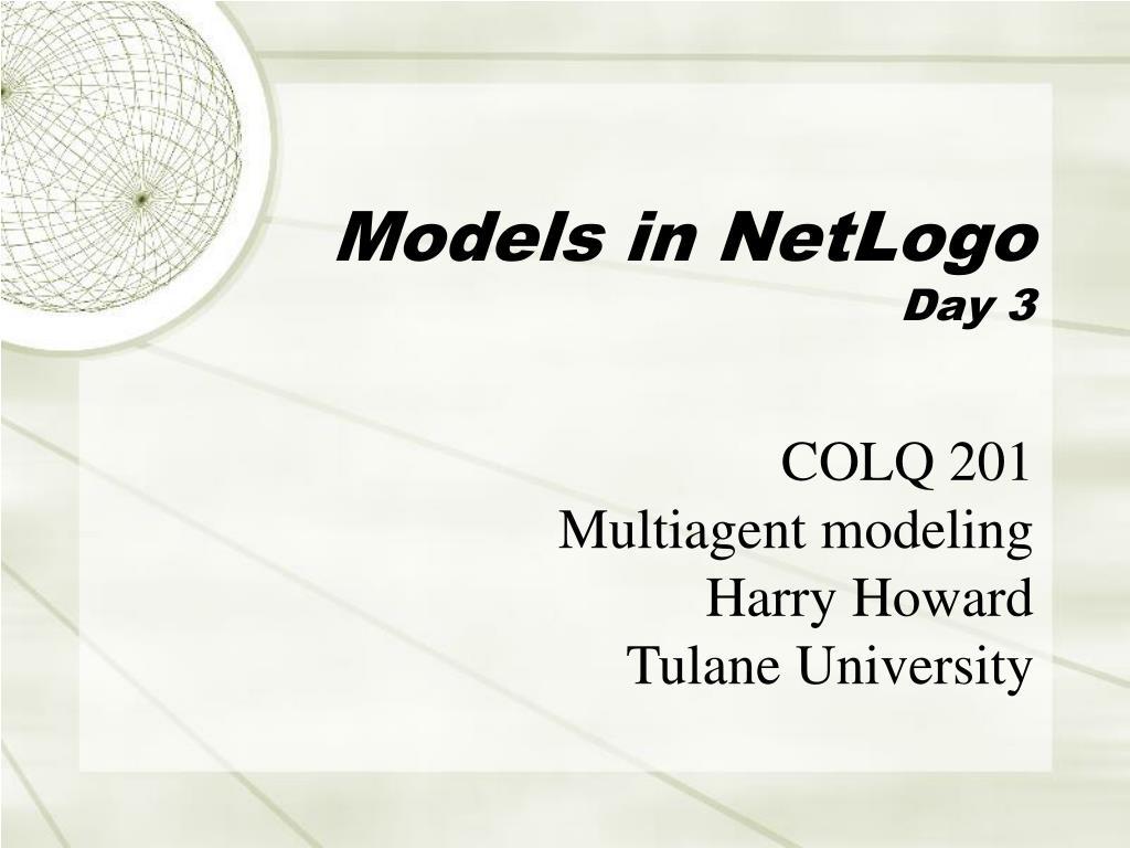 Models in NetLogo