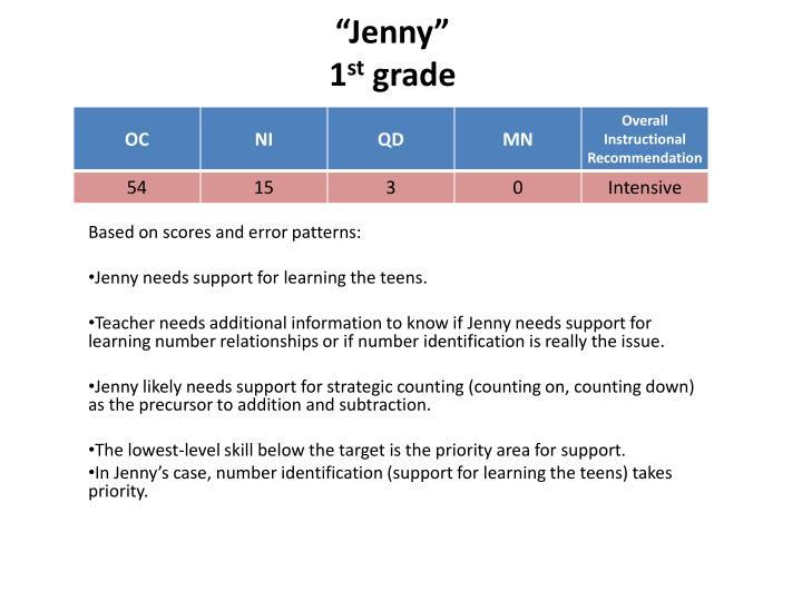 """""""Jenny"""""""