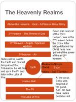 the heavenly realms1