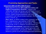 promising approaches and tools50