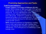 promising approaches and tools51