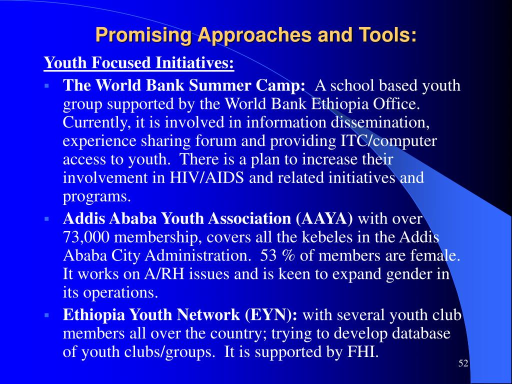 Promising Approaches and Tools: