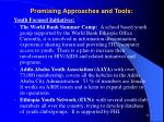 promising approaches and tools52