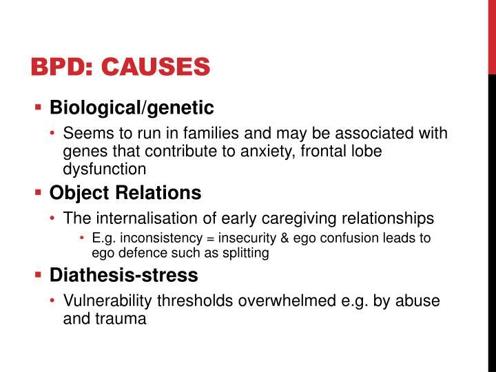 BPD: Causes